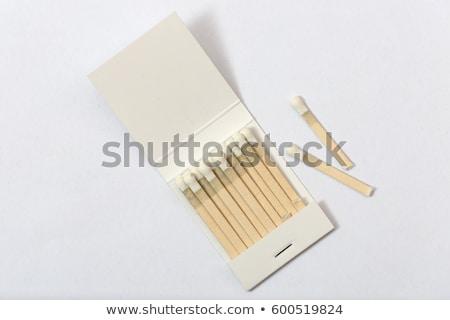 Papier boek wedstrijden 3d illustration geïsoleerd Stockfoto © montego