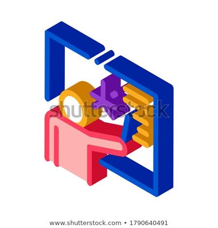 Extranjero idioma maestro icono vector Foto stock © pikepicture