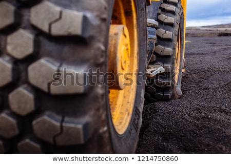 Bulldozer on wheels stock photo © anyunoff