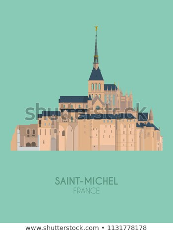 Mont Saint Michel skylines Stock photo © RazvanPhotography