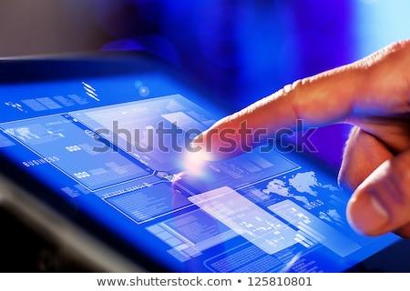 touch screen device Stock photo © Pakhnyushchyy