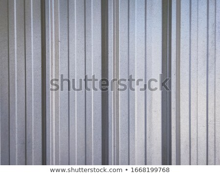silver grooved metal stock photo © arenacreative