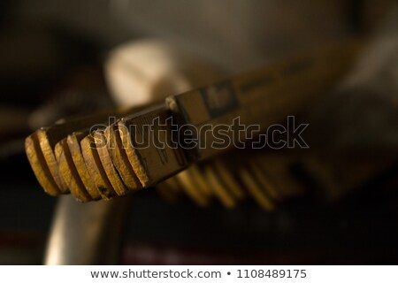 wooden pocket rule Stock photo © prill