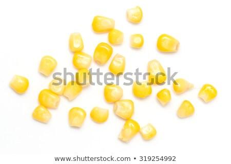 Close up of peas sweetcorn Stock photo © ozaiachin