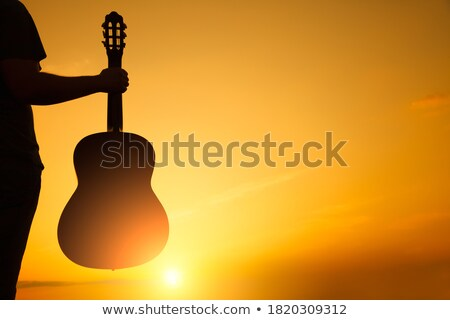 young woman and young man with guitar stock photo © photography33