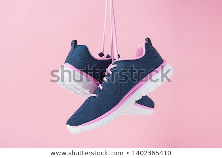 Hanged Colorful Sport Shoes Stock photo © Kuzeytac