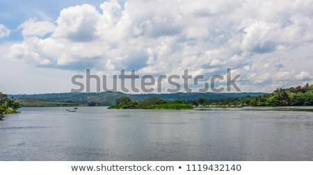 Victoria Nile scenery in Uganda Stock photo © prill