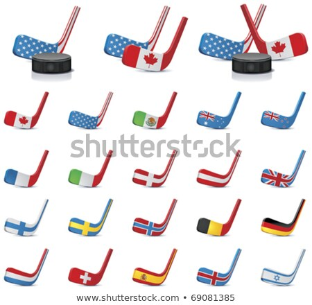 Hockey Colours Of Great Britain Stock fotó © tele52