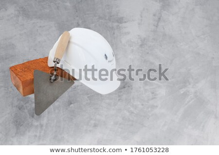 Bricklayer with copyspace Stock photo © photography33