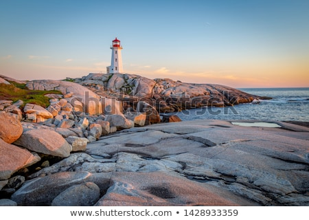 at peggys cove stock photo © ca2hill