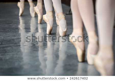 legs in ballet shoes 2 Stock photo © choreograph