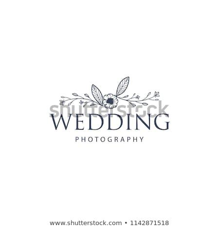 noivo · coração · vetor · casamento - foto stock © hermione