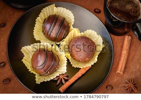 cinnamon and truffle Stock photo © M-studio