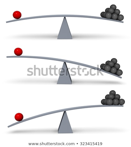 Stock photo: Less is More - One is Equal to Many Others