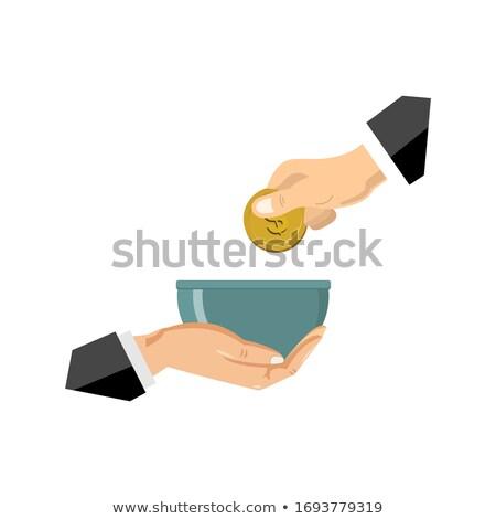 üzletember segítő kéz fehér üzlet kézfogás munkás Stock fotó © wavebreak_media