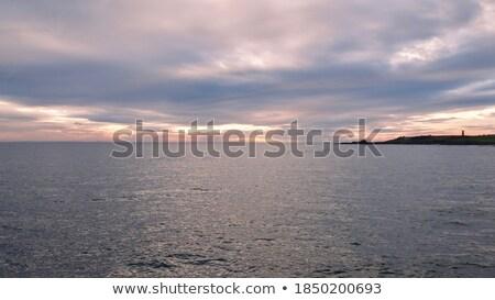 Naplemente Skócia tenger óceán felhő Európa Stock fotó © phbcz