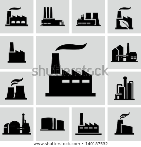 Power Plant Icon Stock photo © WaD