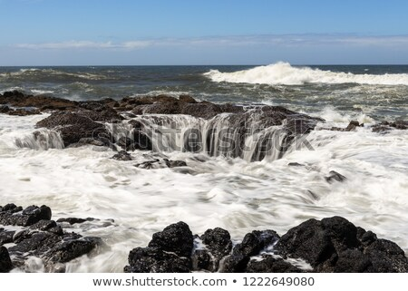 溶岩 オレゴン州 海岸 水 海 緑 ストックフォト © Rigucci