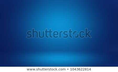 Azul ouro floco de neve gelado padrões abstrato Foto stock © ElenaShow