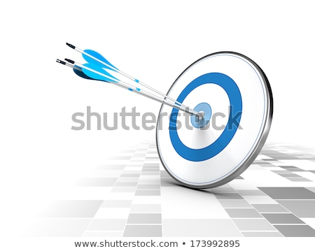 Dardo fronteira azul confuso direção Foto stock © Lightsource