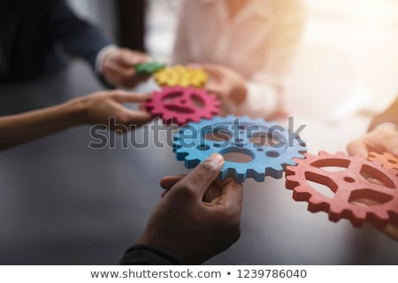 business · integratie · model · achtergrond · informatie · engineering - stockfoto © kentoh