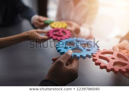 üzlet integráció modell háttér információ mérnöki Stock fotó © kentoh