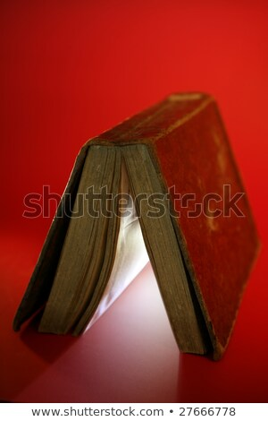Vecchio libro luce Foto d'archivio © lunamarina