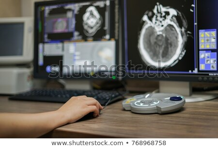 Foto stock: Mão · médico · mouse · isolado · papel · caneta