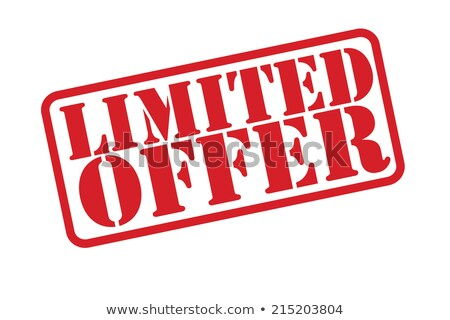 'Limited Offer' rubber stamp Stock photo © burakowski