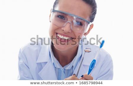 o · melhor · atendimento · odontológico · grupo · dentes · um · dente - foto stock © lightsource