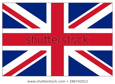 Egyesült · Királyság · zászló · ikon · izolált · fehér · üzlet - stock fotó © zeffss