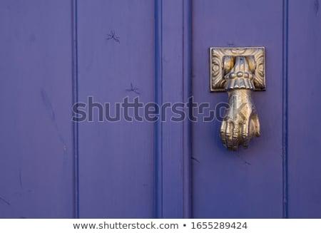стороны двери коричневый Сток-фото © rglinsky77