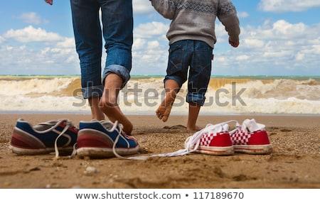 отцом · сына · красивой · воды · семьи · любви - Сток-фото © meinzahn
