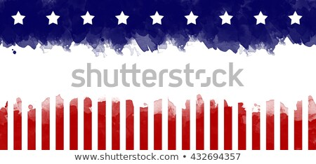 Stock photo: AMERICA Stars and Stripes