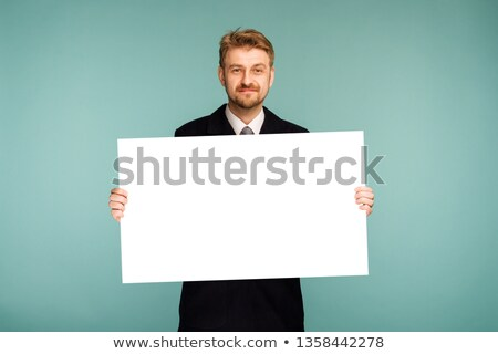 managers with blank placards stock photo © voysla
