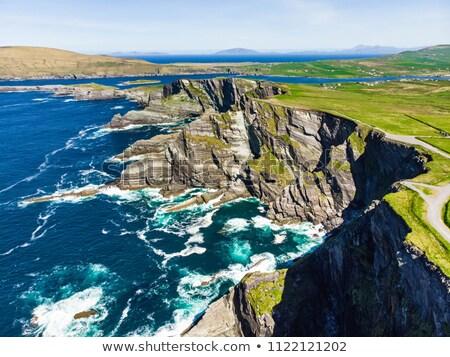 島 · 表示 · 風光明媚な · アイルランド · 海岸線 · ビーチ - ストックフォト © unkreatives