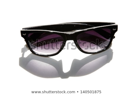 Generic Stylish male aviator sunglasses on white Stock photo © stevanovicigor