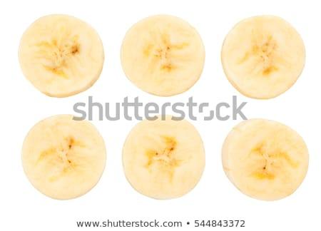 banana · branco · isolado · comida · fruto - foto stock © InTheFlesh