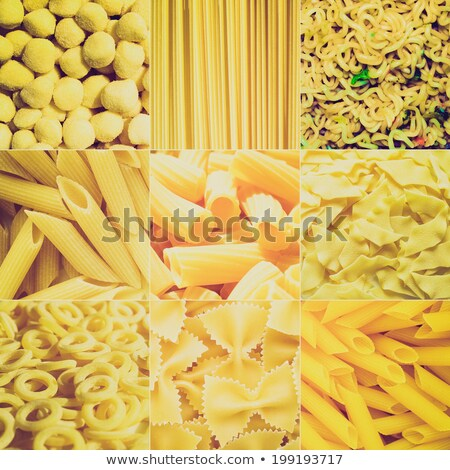maccheroni · alimentare · cucina · gruppo · bianco - foto d'archivio © claudiodivizia