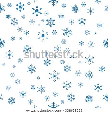 natal · neve · belo · flocos · de · neve · queda - foto stock © voysla