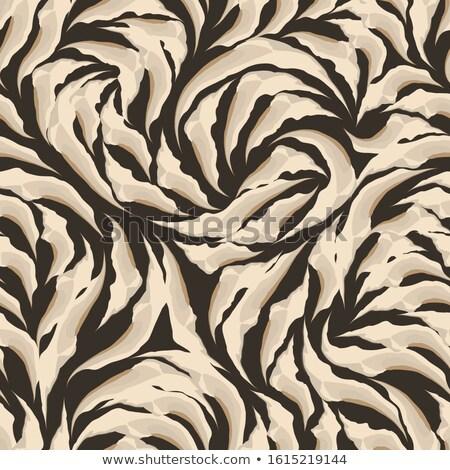 tricolor lines smooth elegant cloth texture stock photo © alexmillos