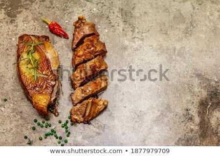 durva · tengeri · só · merítőkanál · étel · wellness · só - stock fotó © mcherevan