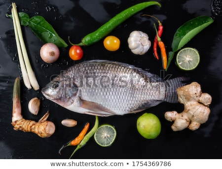 Delicious fish Stock photo © racoolstudio