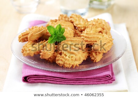S-shaped Spritz cookies Stock photo © Digifoodstock