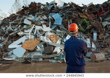 Obsolete piece of scrap metal corroding Stock photo © stevanovicigor