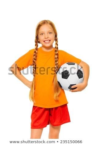 Blonde girl in the sportswear Stock photo © bezikus