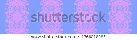 scrapbook · oldal · kék · fehér · virágok · esküvő · család - stock fotó © irisangel