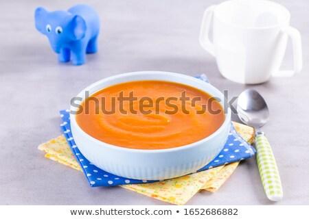 pumpkin or carrot puree Stock photo © M-studio