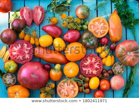 Assortiment prune variété alimentaire vert agriculture Photo stock © M-studio