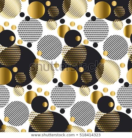 Naadloos moderne luxe patroon geometrie cirkel Stockfoto © Galyna